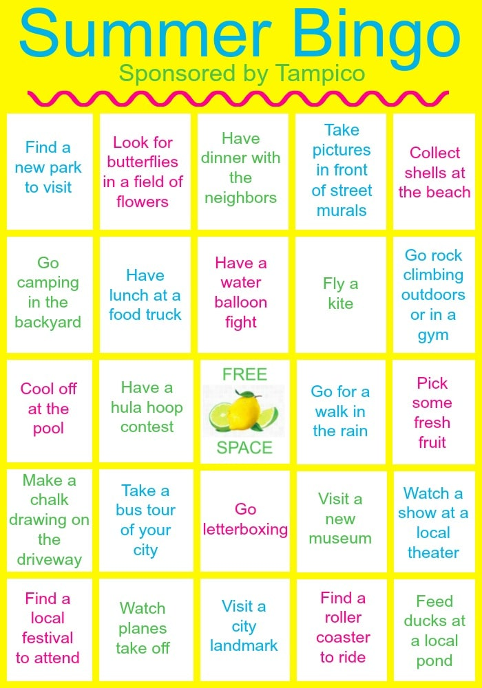 photo about Printable Bingo for Kids identified as Enjoyment actions for children within just your town (and a printable