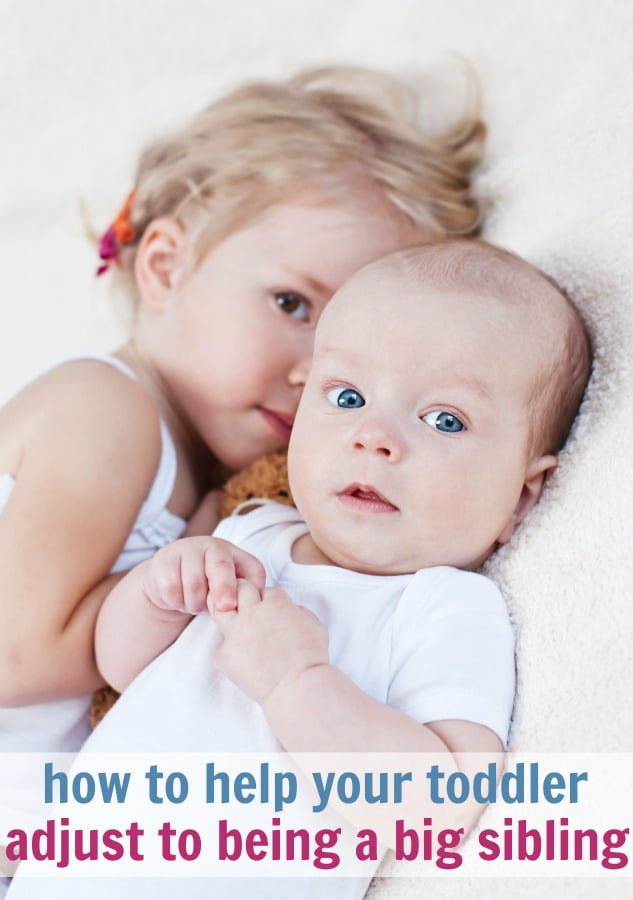 how to help your toddler adjust to being a big sibling #bigbrother #bigsister #baby #newbaby #pregnancy #havingababy #family #siblings #parenting #momlife #motherhood