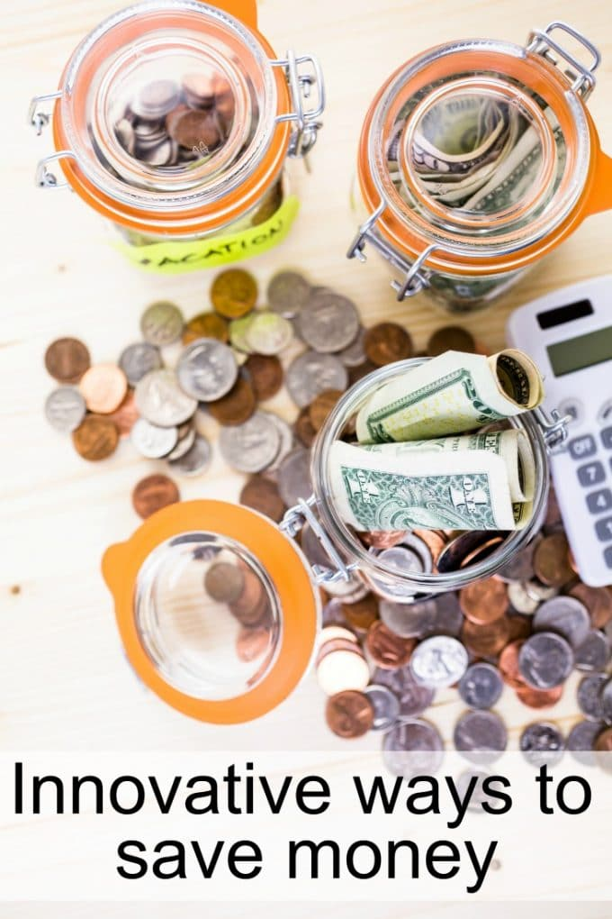 Innovative ways to save money and create your nest egg